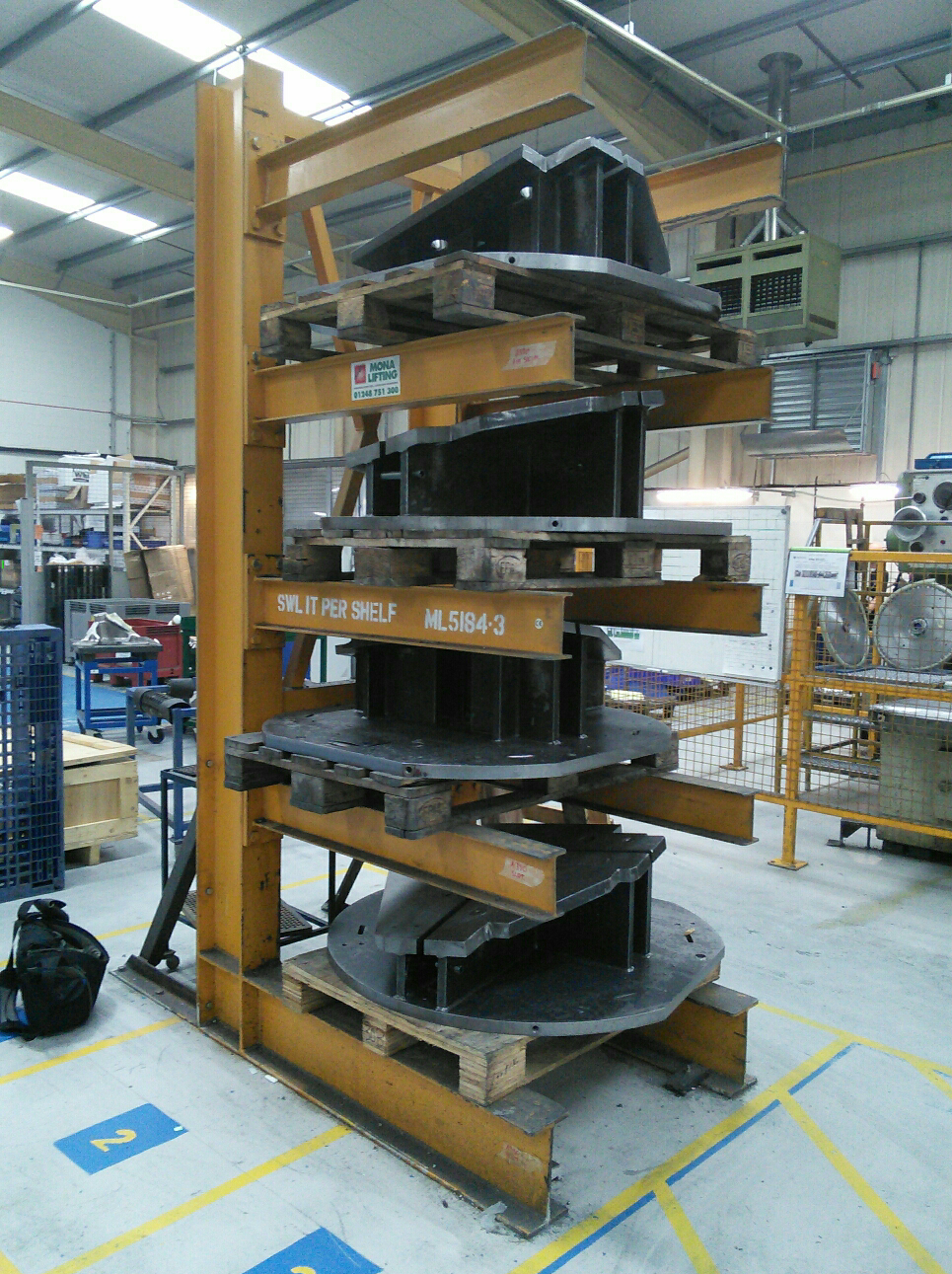 a cantilever racking system