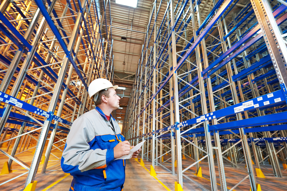 Racking inspections - inspector performing audit