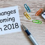Changes in legislation for 2018